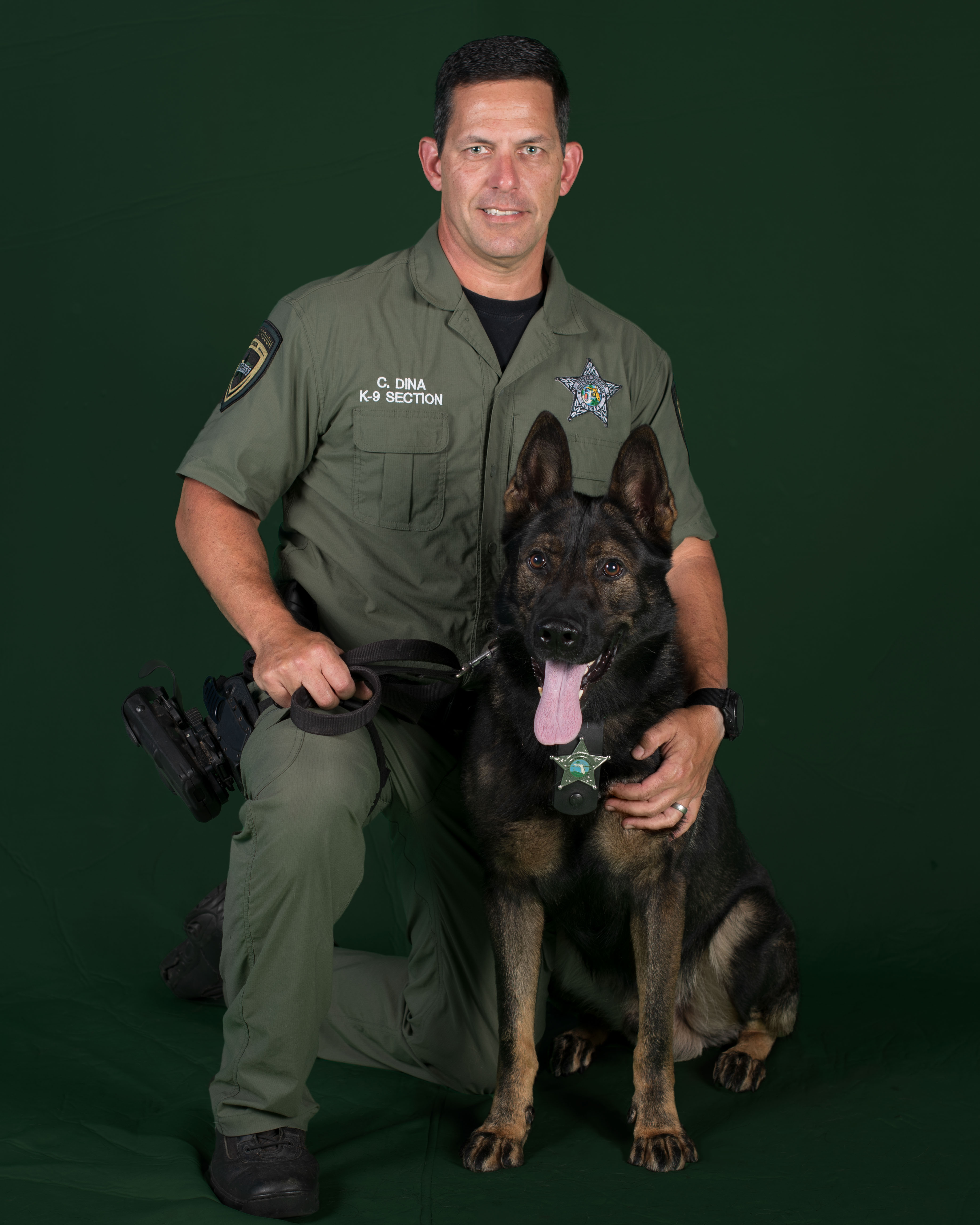 K9 Unit Christopher Dina and Max Image
